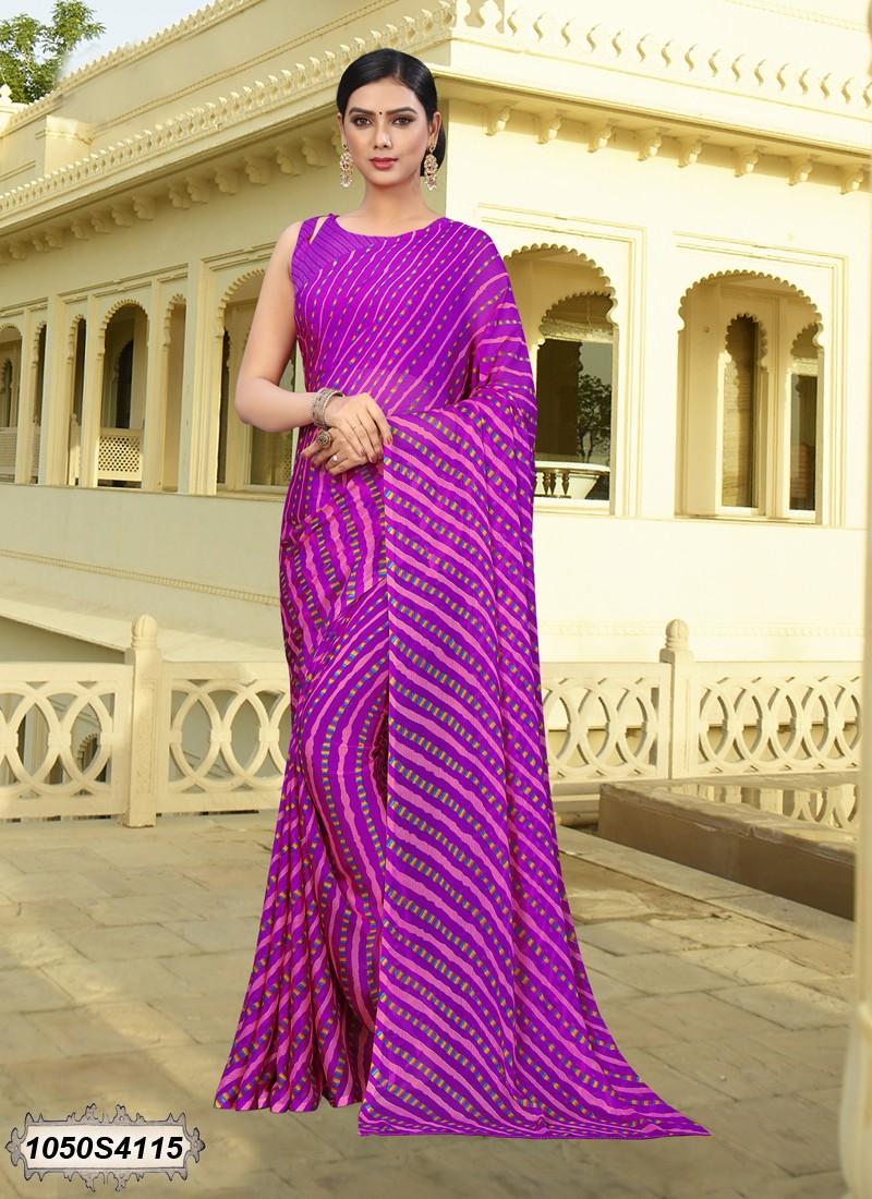 Saree violeta