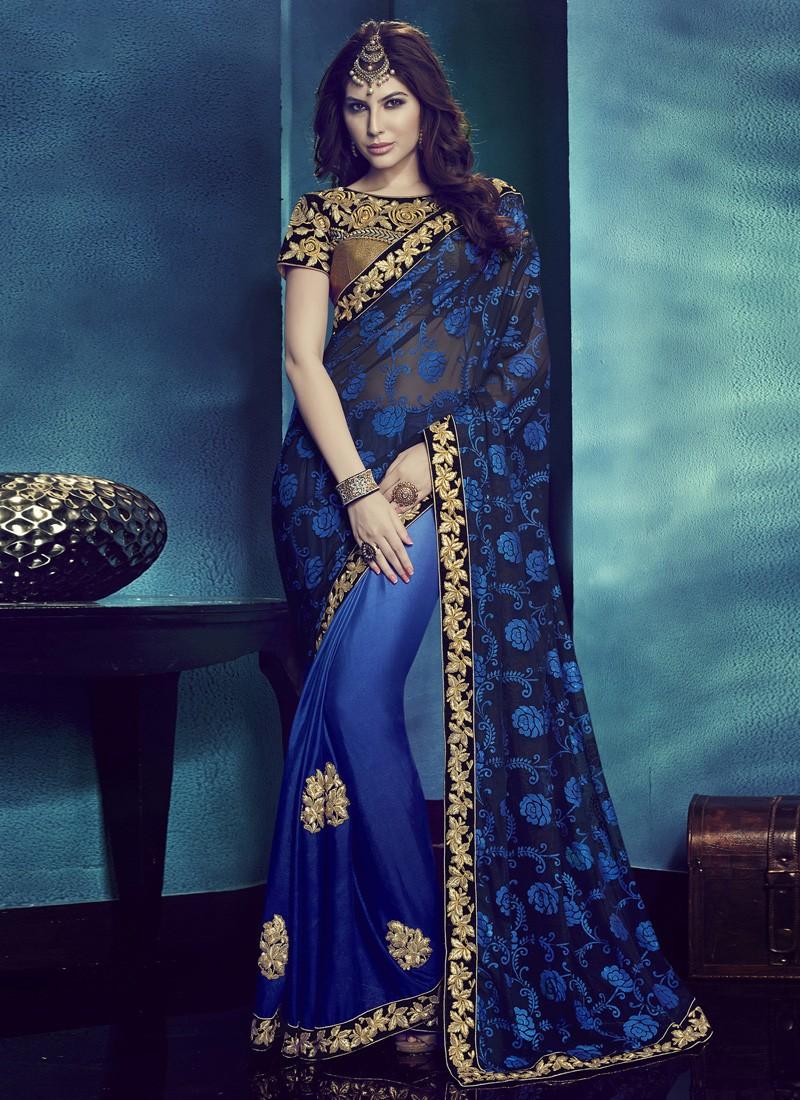 saree noche de India