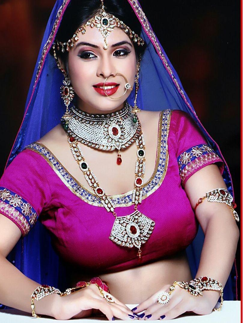 Conjunto completo novia india