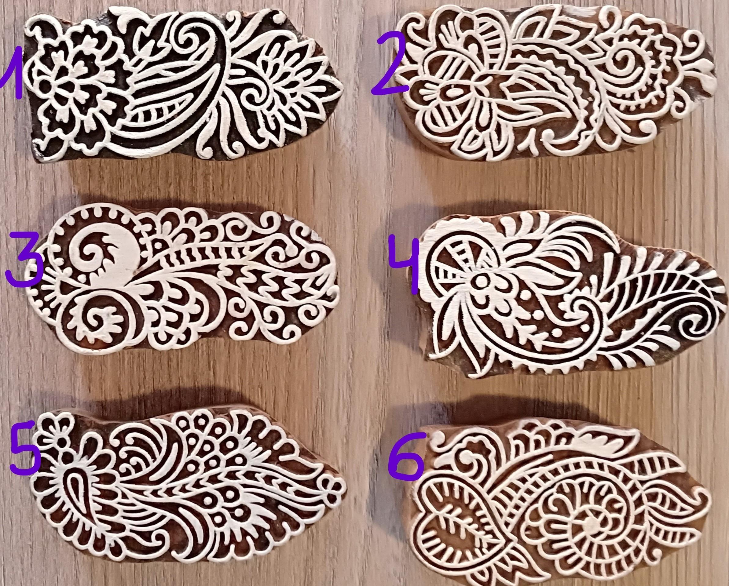 Sello grande para dibujos henna