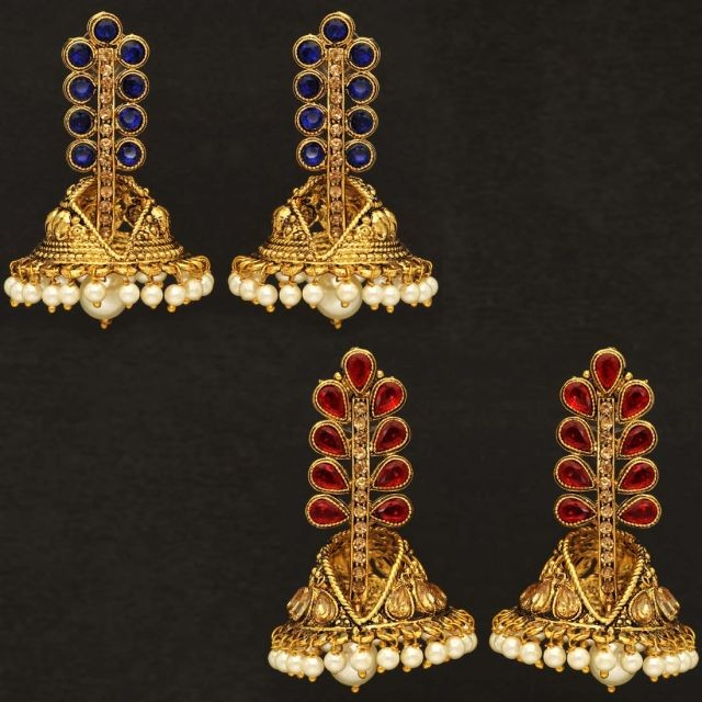 OFERTA 2 pares pendientes Hindues