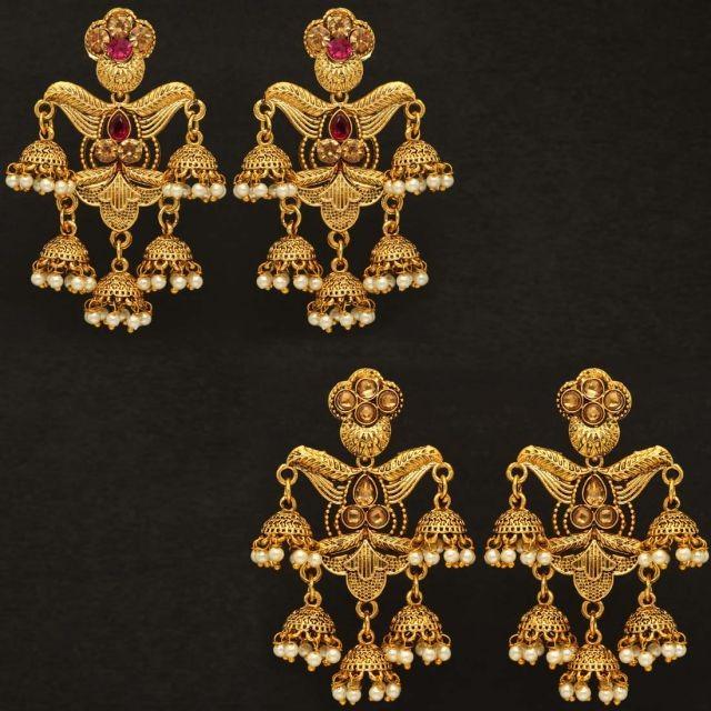 OFERTA 2 pendientes campanas indias
