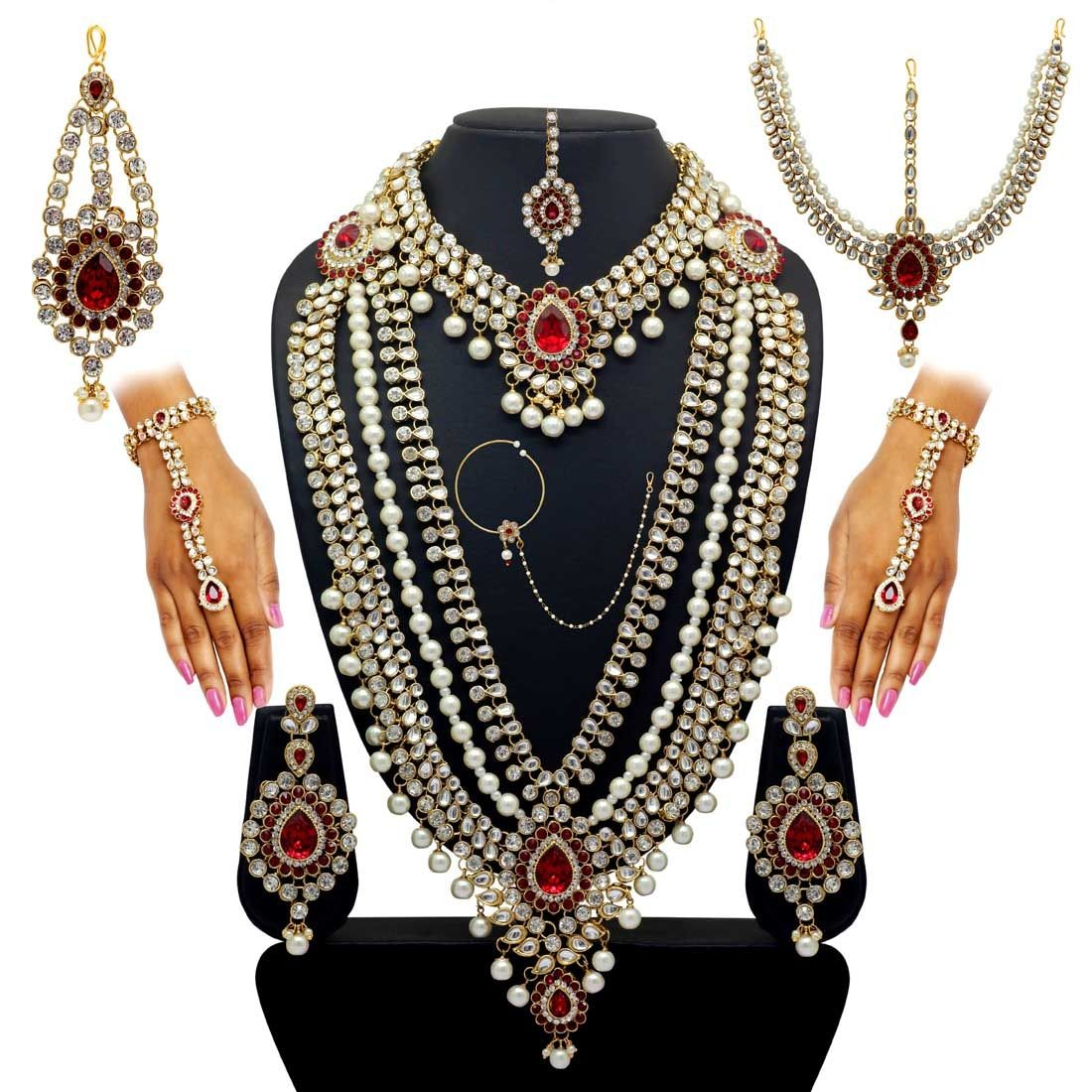 Conjunto novia de Bollywood