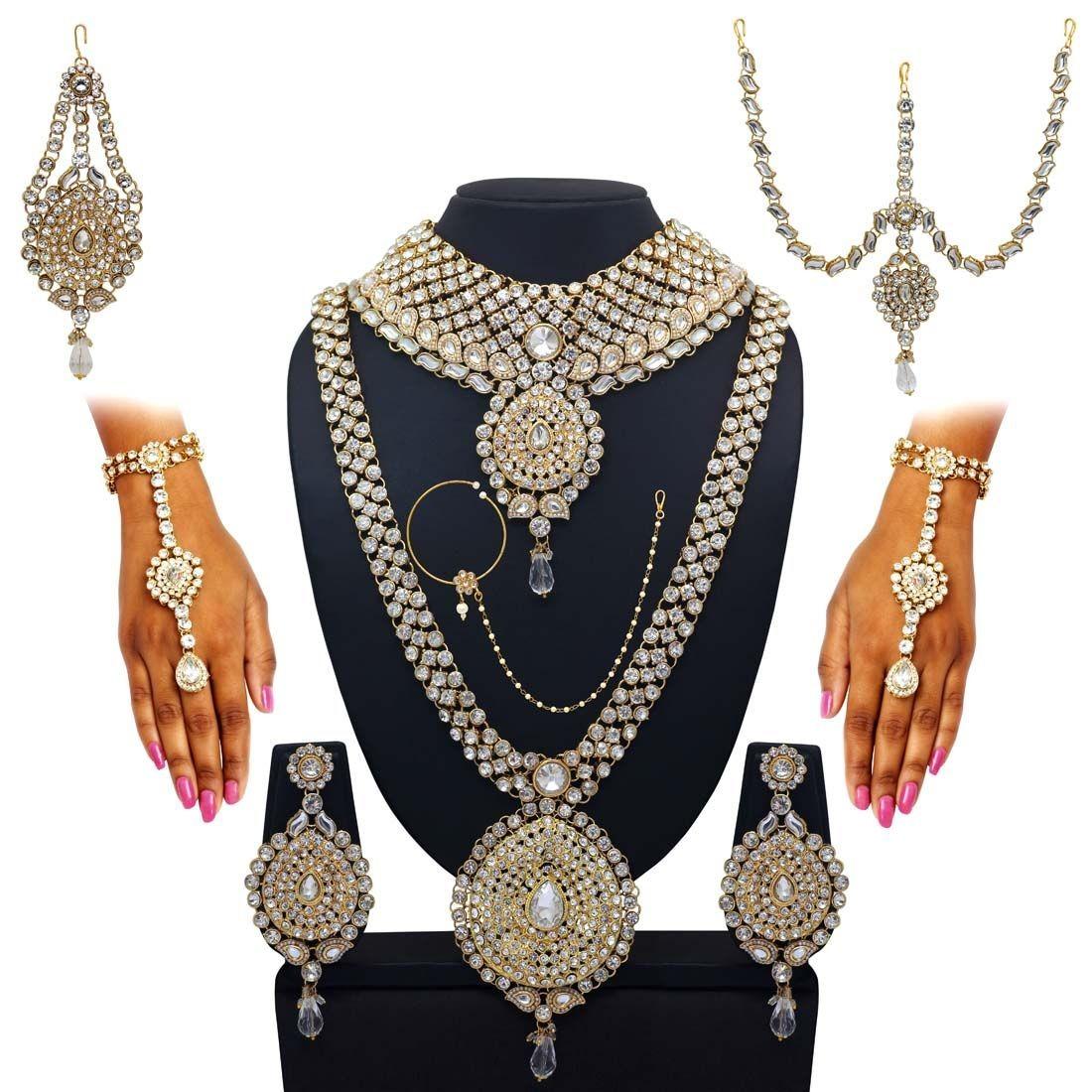 Conjunto hermosa novia india
