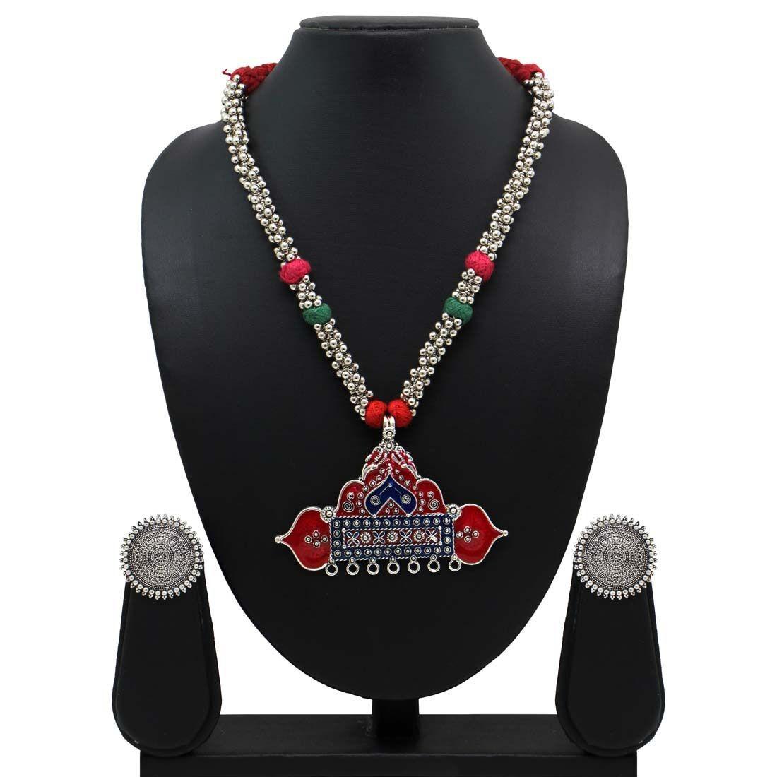 Conjunto collar exotico