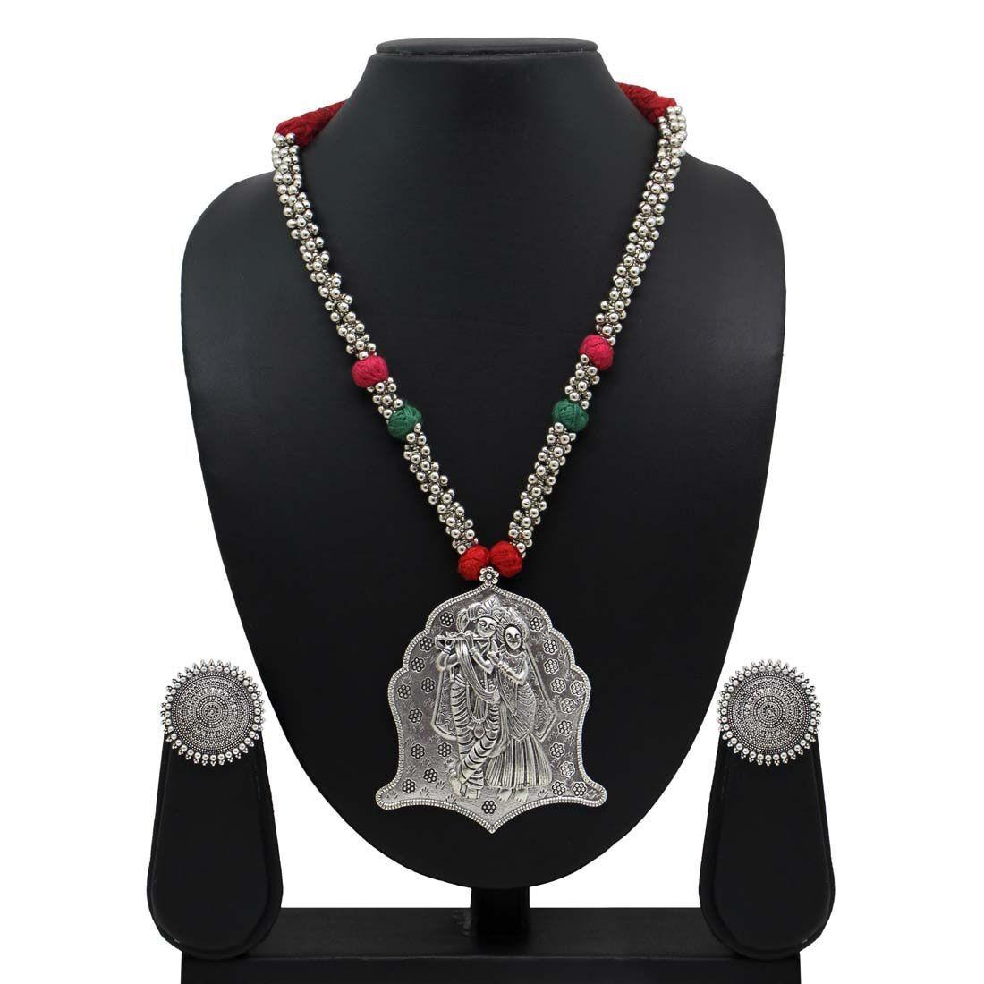 Collar hindu Radha y Krishna