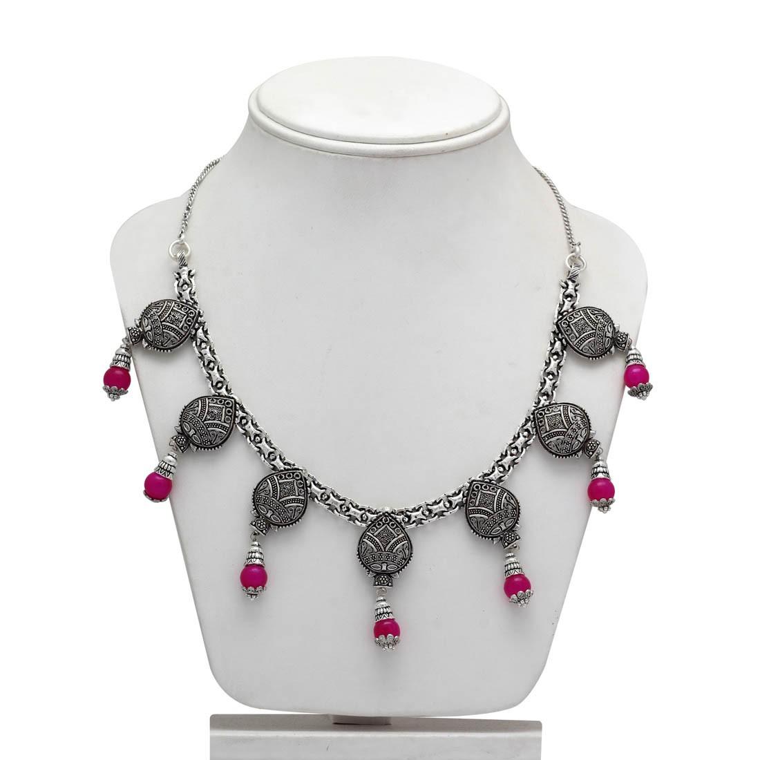 Collar etnico colgantes