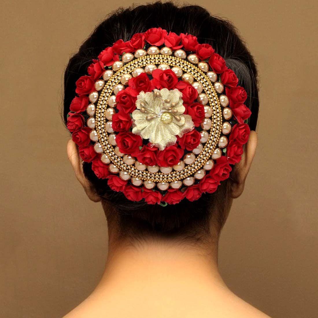 Adorno para peinado de India
