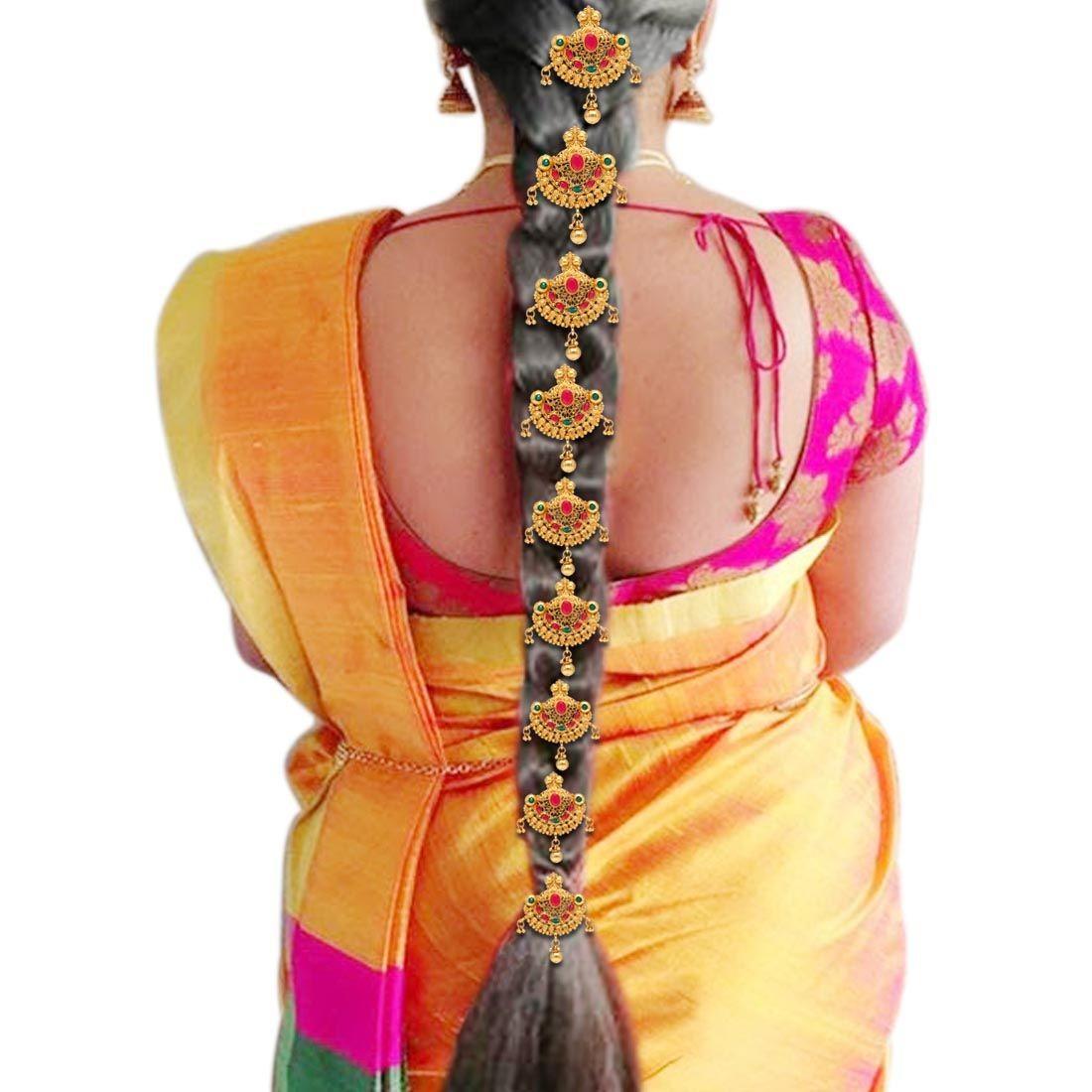 Conjunto de pasadores de India para pelo
