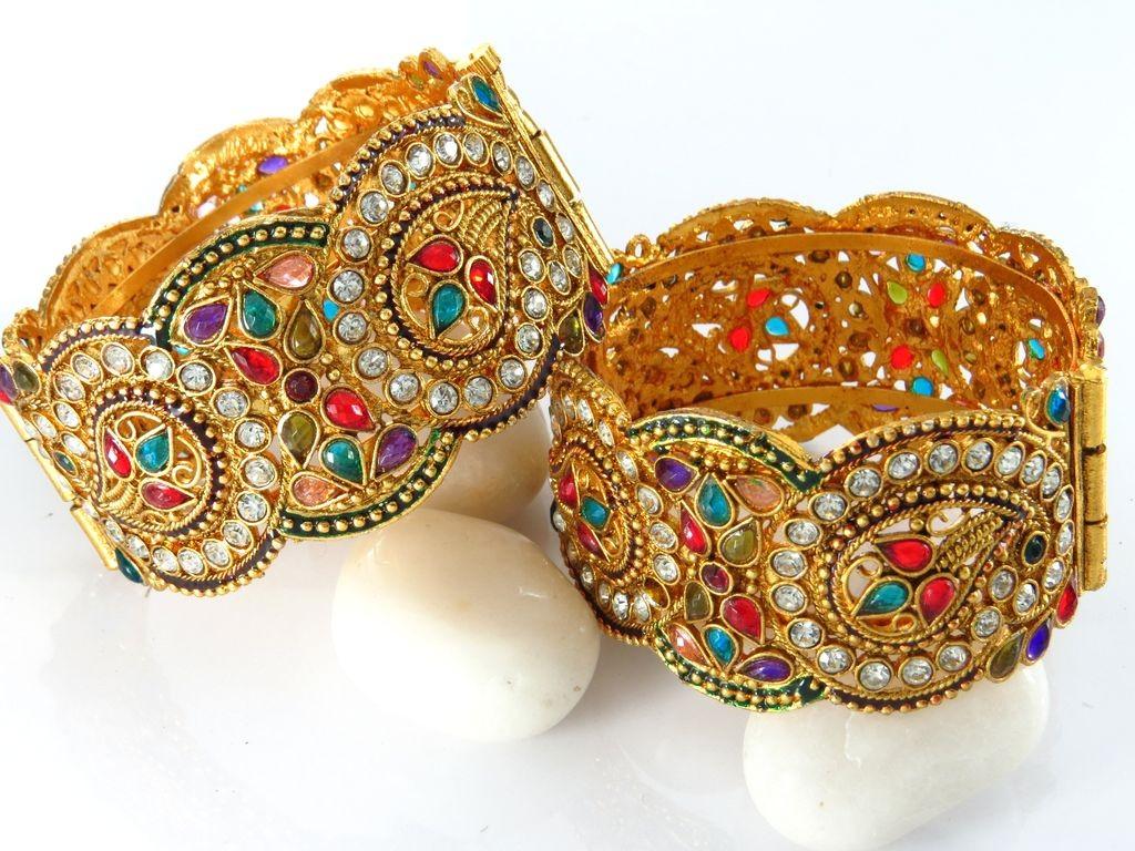 Pulseras estilo antiguo hindu