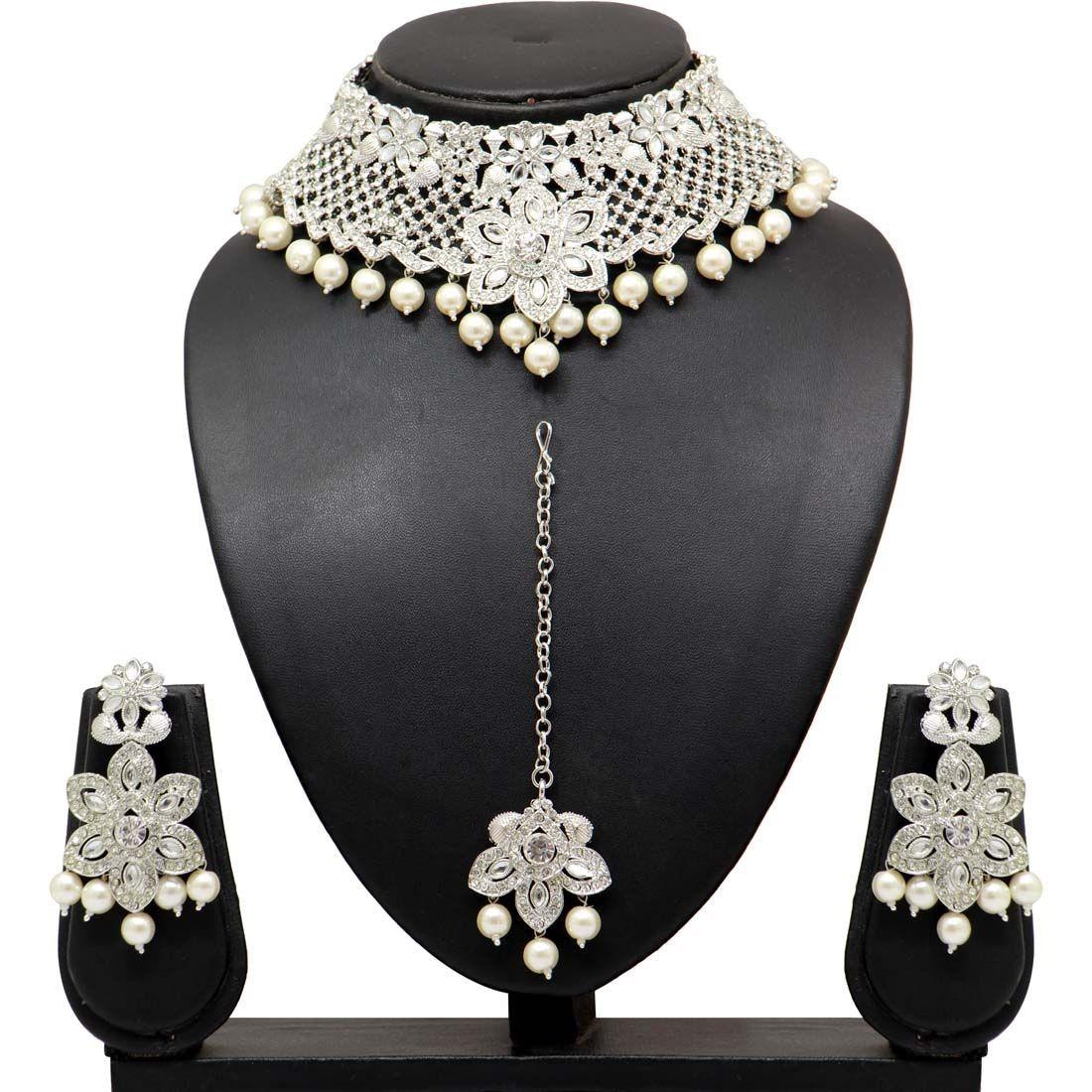 Conjunto joyas indias plata