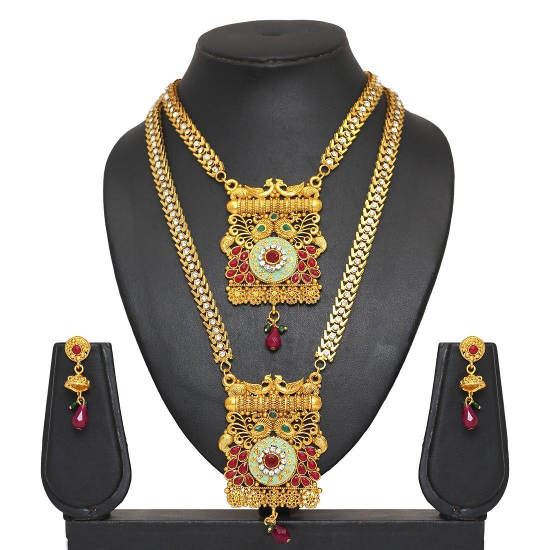 Conjunto collares india