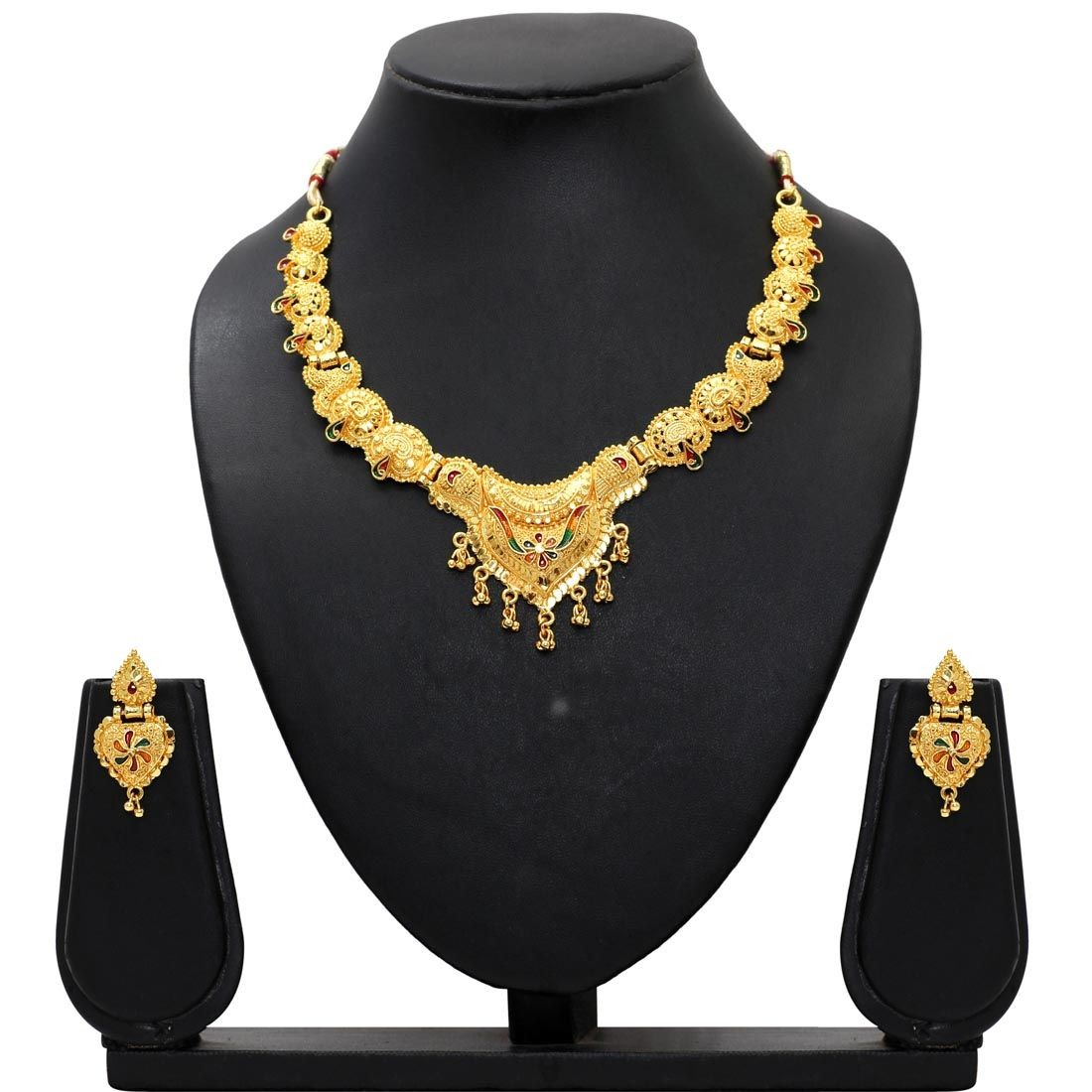 Conjunto joyas hindues