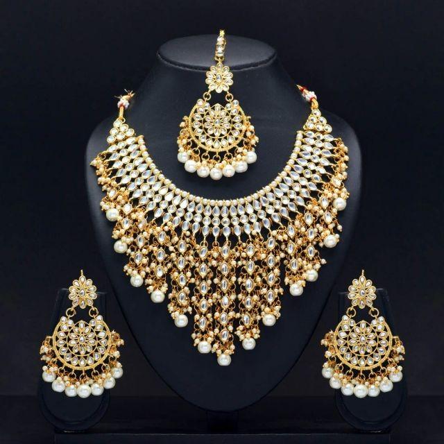 Conjunto grande perlas