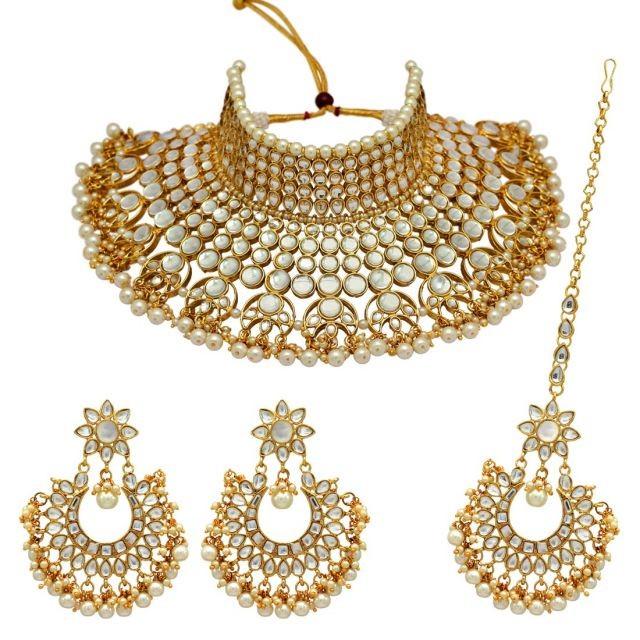 Conjunto Deepika blanco