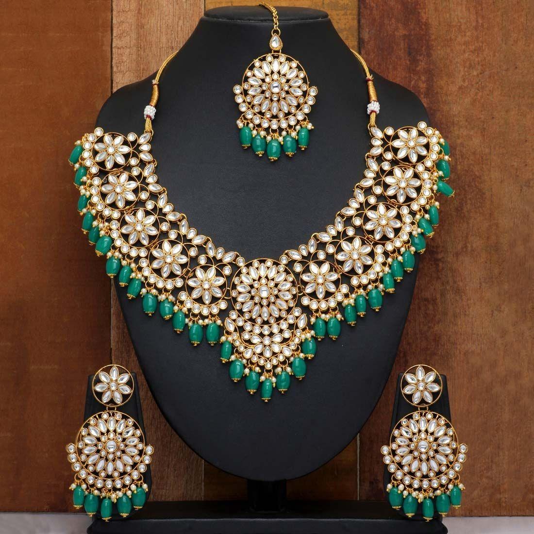 Joyas indias verde esmeralda
