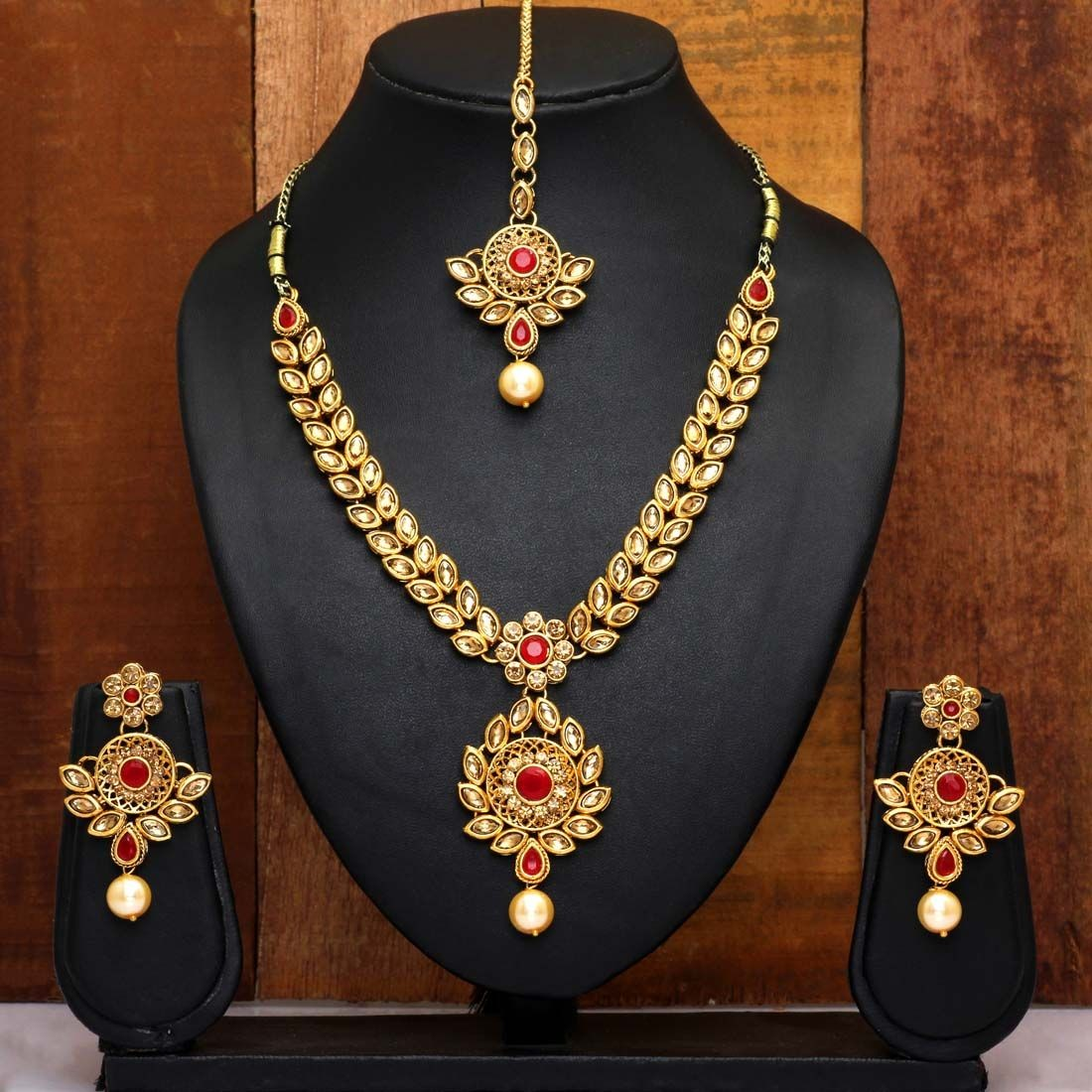 Conjunto Golden and Red