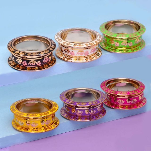 Pack 6 conjuntos pulseras de colores