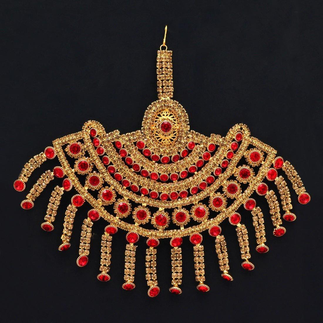 Tikka grande roja y dorada