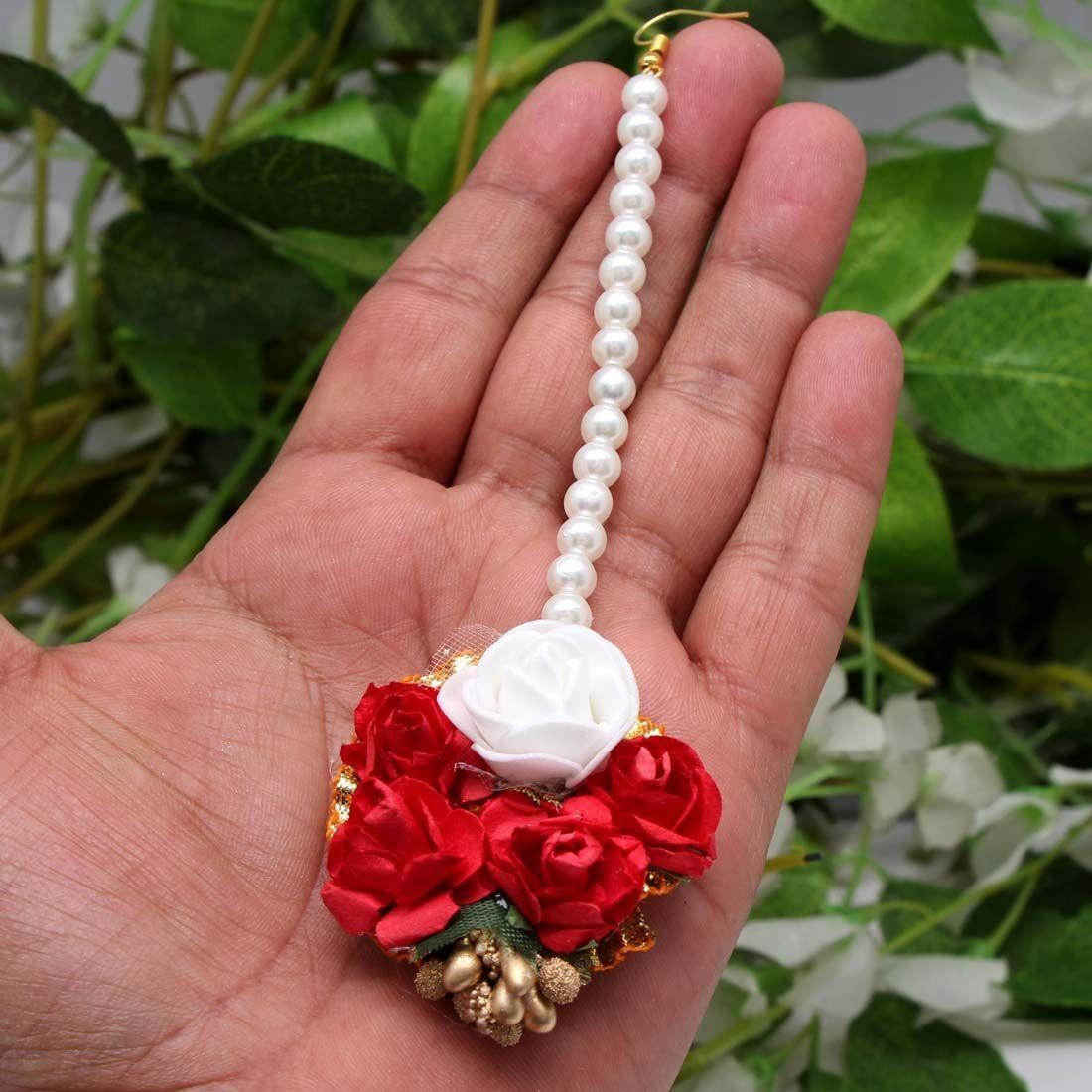 Tikka rosas rojas y blancas