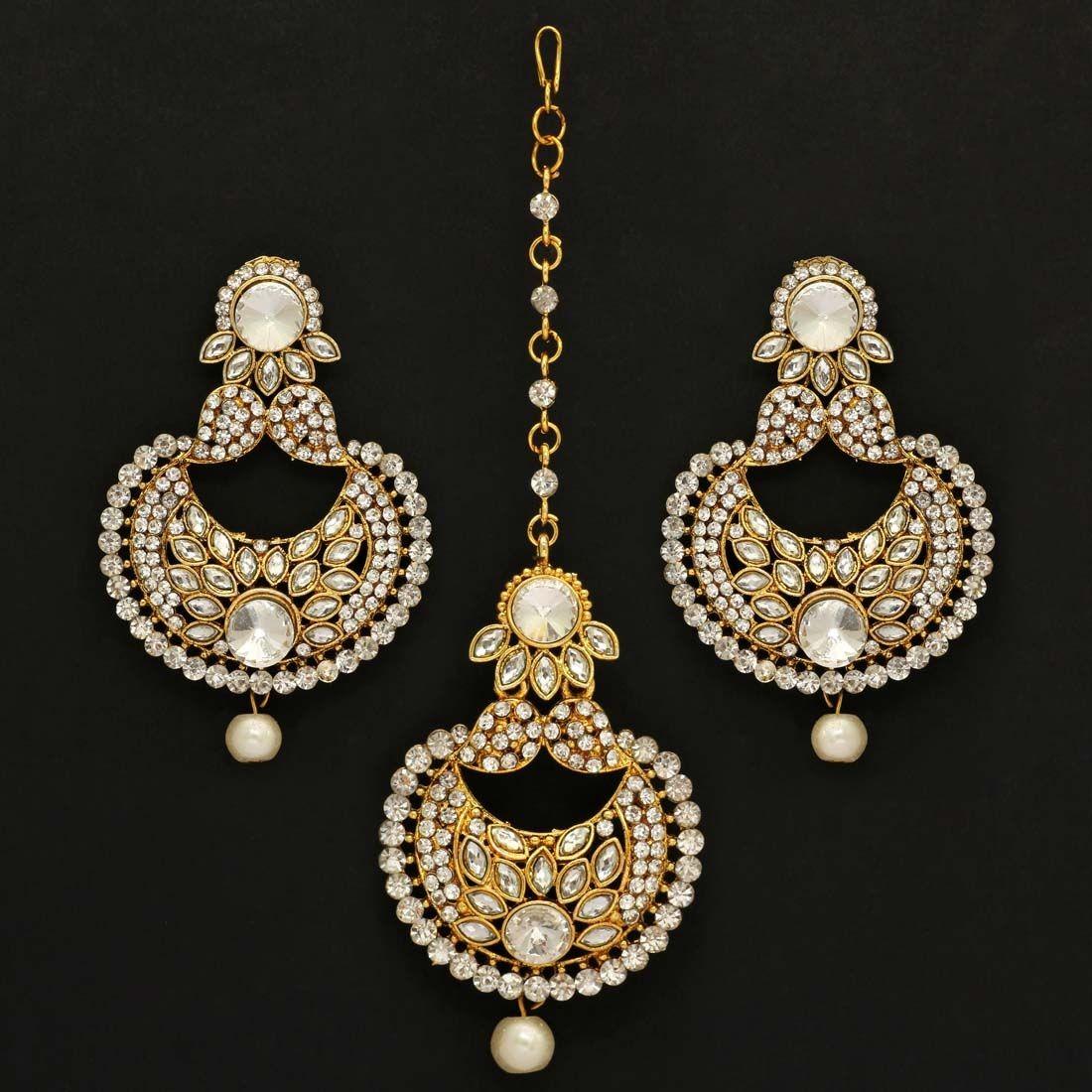 Conjunto grande joyas hindues Deepika
