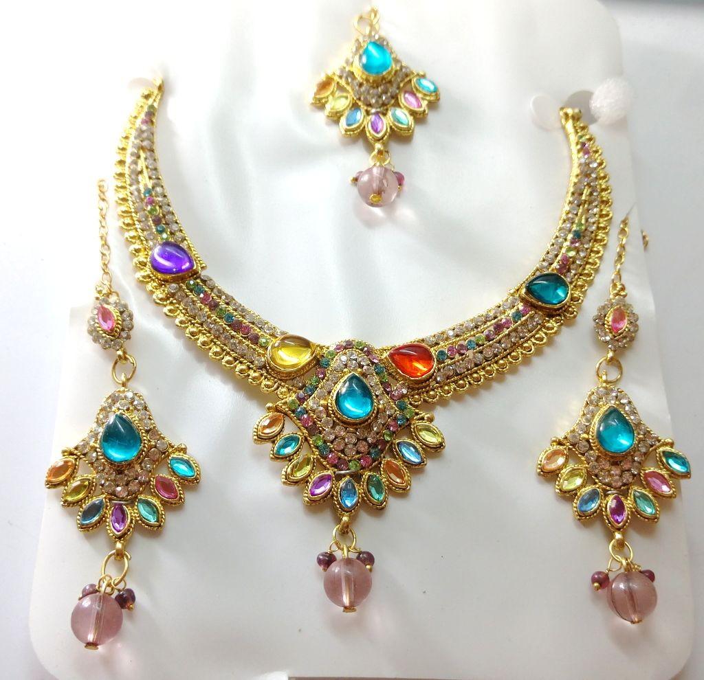 Conjunto multicolor Bollywood