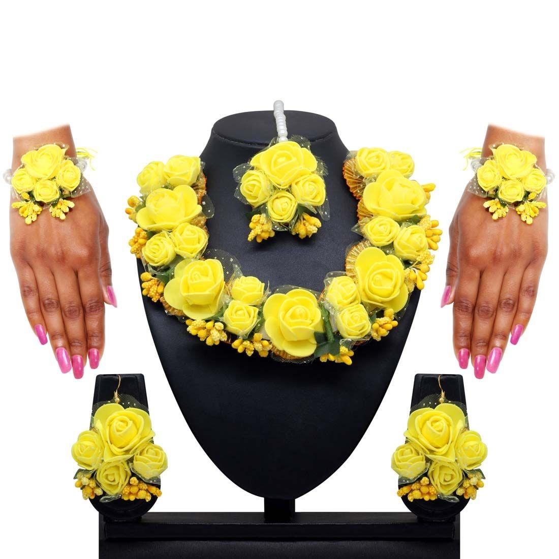 Conjunto amarillo ceremonia henna novia india