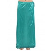 Falda abajo sari verde