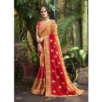 sari bella novia india