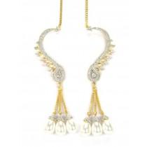 Pendientes para toda la oreja con perlas