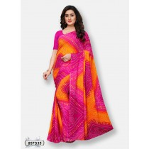 Saree tropical colours