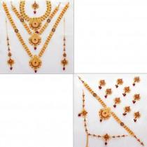 Conjunto novia hindu completo