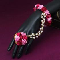 Pulsera con anillo Rosas Indias