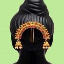 tocado hindu moño