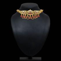Collar choker flor de loto