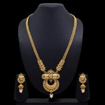 Collar etnico hindu y pendientes