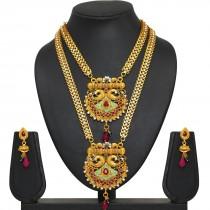 Conjunto dos collares indios y pendientes
