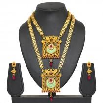 Conjunto de collares indios