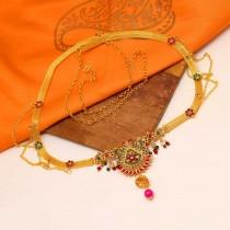 Cinturon dorado hindu