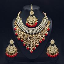 Conjunto grande joyas indias