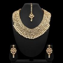 Conjunto gala piedras y perlas