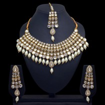 Conjunto joyas novia etnica