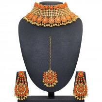 Joyas Indias piedras naranjas
