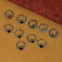 Septum Tribal piedra color