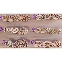 Sellos para dibujos de henna o jagua