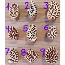 Sello para henna motivo pequeño