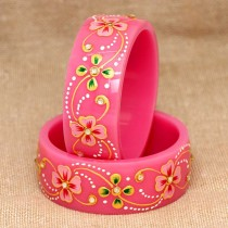 Pulseras rosa chicle niña