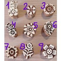 Sello para henna flor pequeña