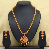 Conjunto hindu color cobre