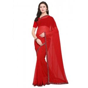 sari rojo de palacio